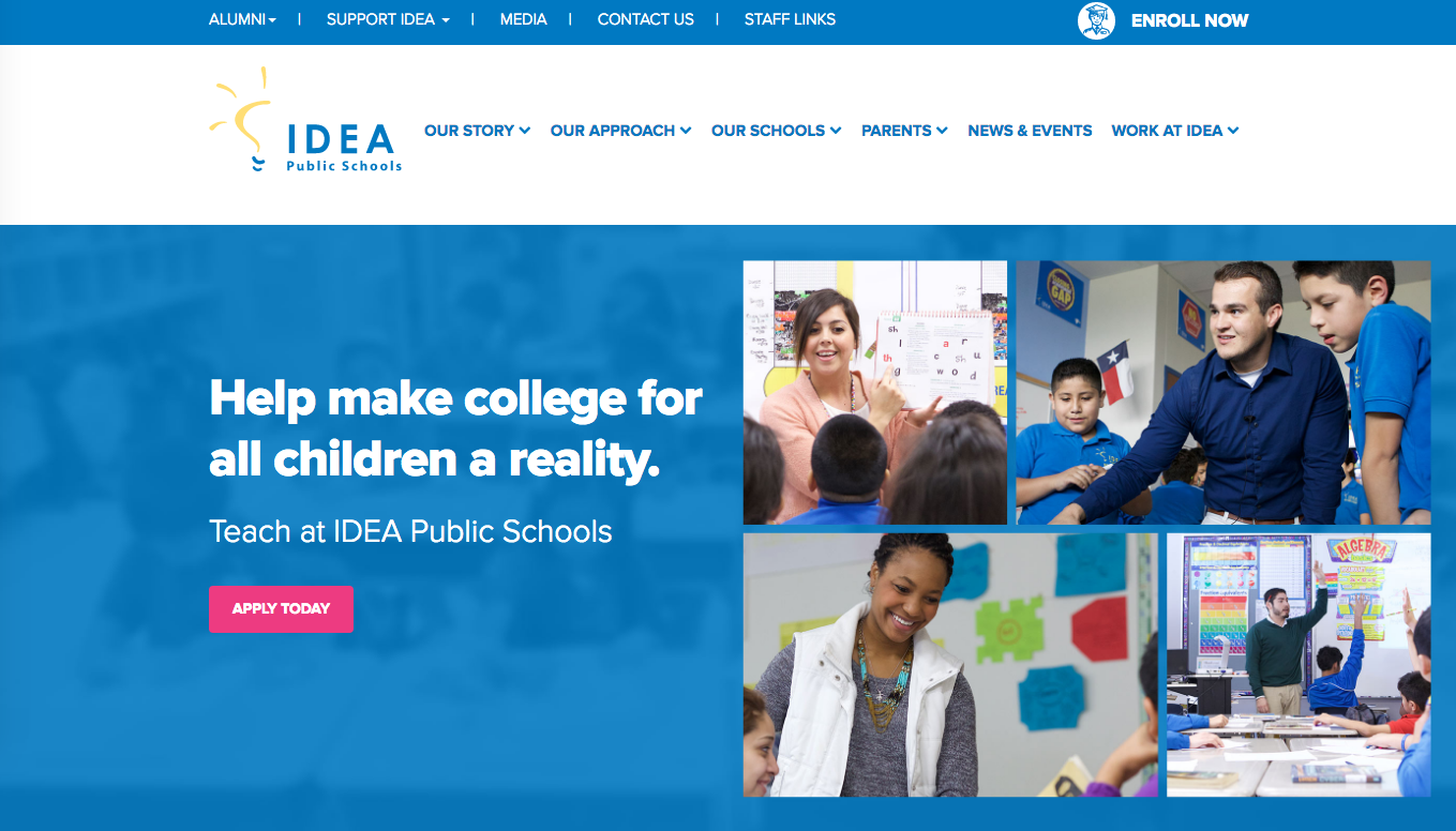IDEA Public Schools Website